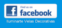 Únete ya a nuestra página en Facebook: Iluminarte Velas Decorativas / join now to our Facebook fan page